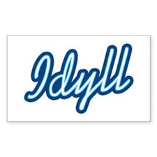 Idyll Rectangle Decal