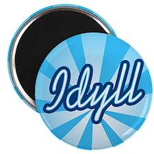 "Idyll 2.25"" Magnet (10 pack)"