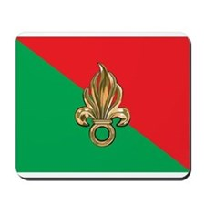 French Foreign Legion Flag Mousepad