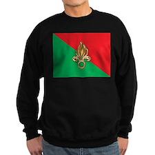 French Foreign Legion Flag Sweatshirt