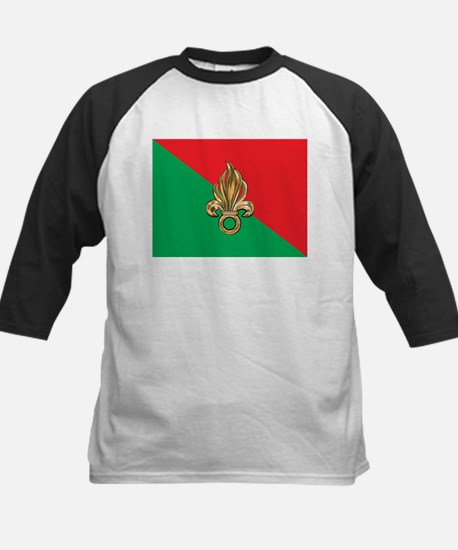 French Foreign Legion Flag Kids Baseball Jersey