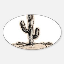 CACTUS_932 Oval Decal