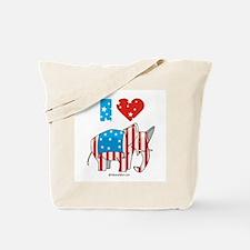 I Love Republicans ~  Tote Bag