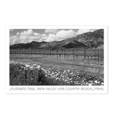 black + white photography Postcards (Package of 8)