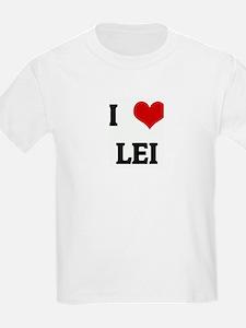 I Love LEI T-Shirt