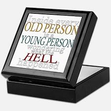 Inside any old person is a yo Keepsake Box