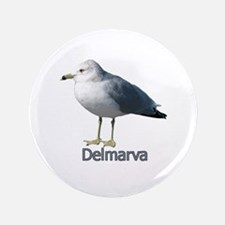 """Delmarva Gull Logo 3.5"""" Button"""