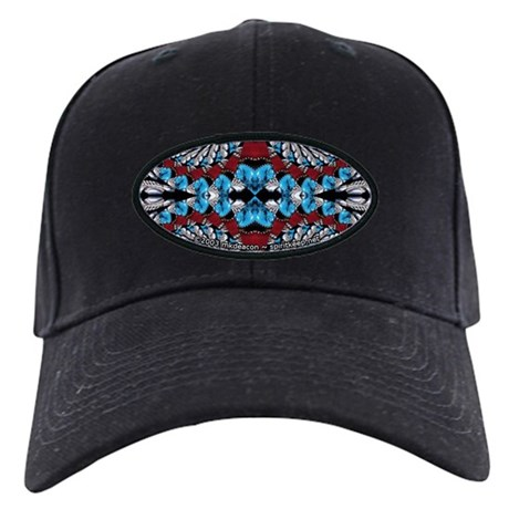 Jewelry Fractal Black Cap