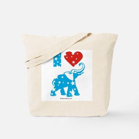I Love Republicans -  Tote Bag