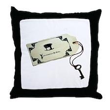 Unbirthday Invitation Throw Pillow