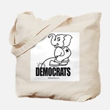 Piss on Democrats -  Tote Bag
