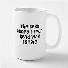 Best Story Large Mug