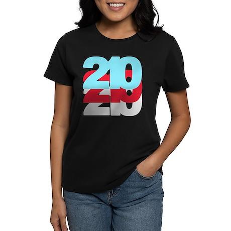 210 Area Code Women's Dark T-Shirt