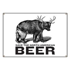 Save Beer Banner