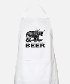 Save Beer BBQ Apron
