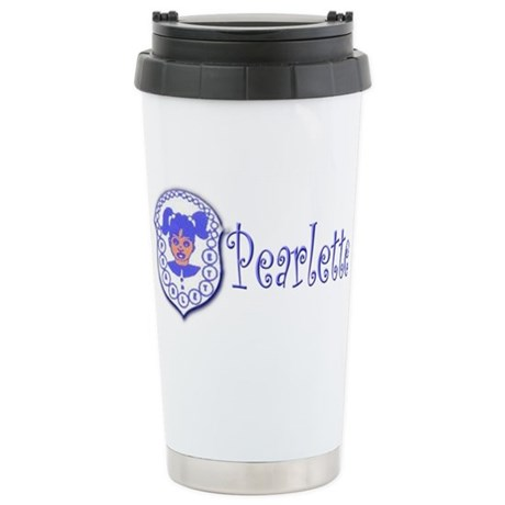 Pearlette Curlz Stainless Steel Travel Mug