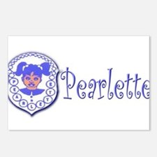 Pearlette Curlz Postcards (Package of 8)