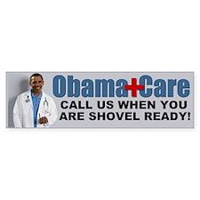 ObamaCare Bumper Car Car Sticker
