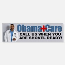 ObamaCare Bumper Car Car Sticker