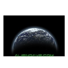 aliendave.com Postcards (Package of 8)