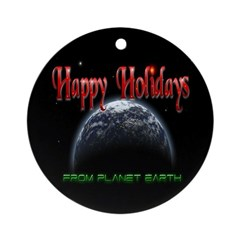 From Planet Earth Ornament (Round)