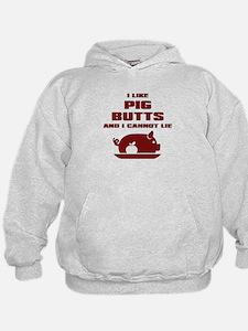 BBQ: I Like Pig Butts Hoodie