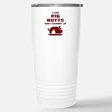 BBQ: I Like Pig Butts Travel Mug