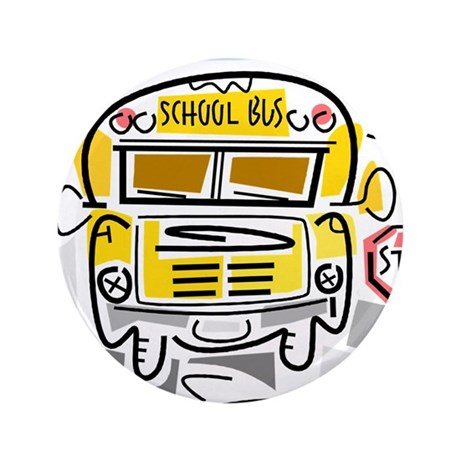 "CROSSING GUARD (1) 3.5"" Button (100 pack)"