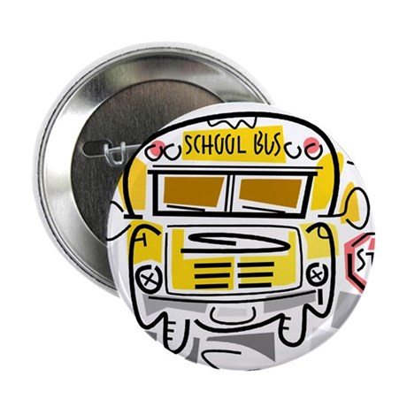 """CROSSING GUARD (1) 2.25"""" Button (100 pack)"""