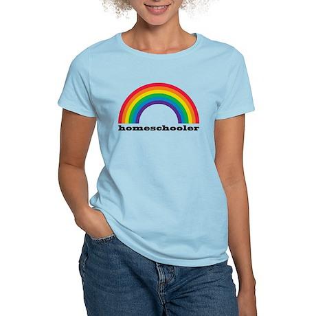 Homeschooler Rainbow Women's T-Shirt