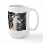 Border Collie Mom's Large Mug, Eyes