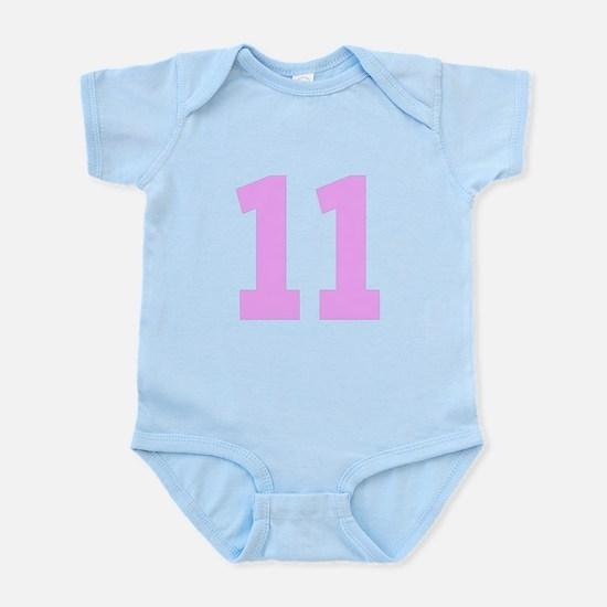 11 PINK # ELEVEN Infant Bodysuit