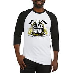 Black Swan Motorcycles Baseball Jersey