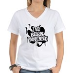 I've Been Imprinted Women's V-Neck T-Shirt