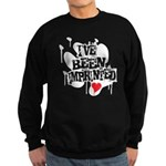 I've Been Imprinted Sweatshirt (dark)