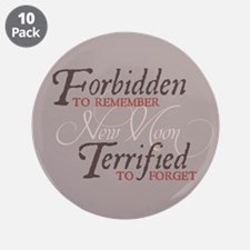 "Forbidden to Remember 3.5"" Button (10 pack)"
