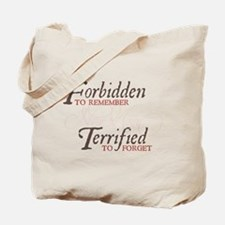 Forbidden to Remember Tote Bag