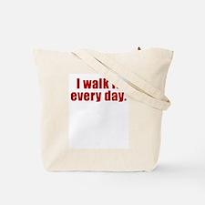 Fine Line Between Genius and Tote Bag