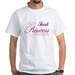 Saudi Princess White T-Shirt