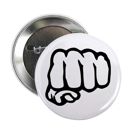 """Fist 2.25"""" Button (10 pack)"""