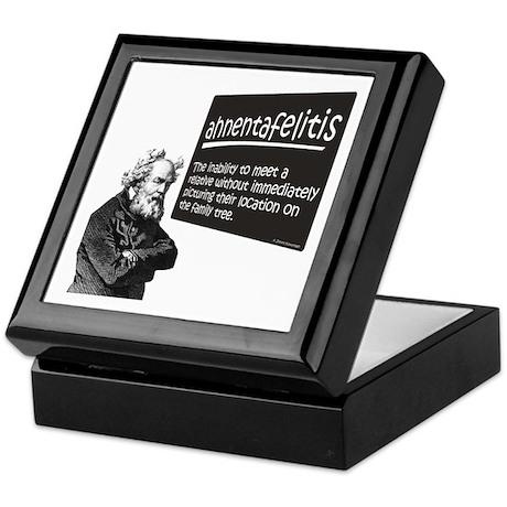 Ahnentafelitis Keepsake Box