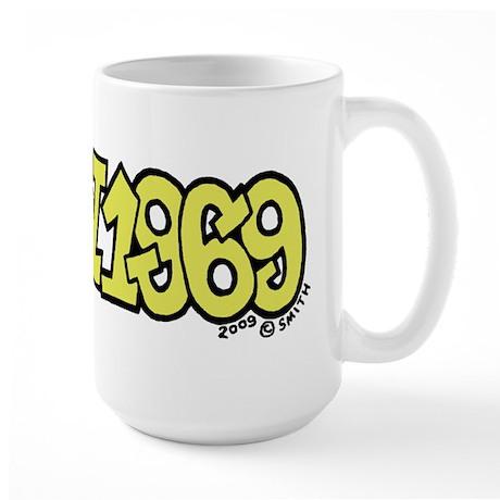 20 July 1969 - Apollo 11 Large Mug