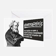 Ahnentafelitis Greeting Card
