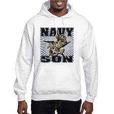 Navy Son Hoodie