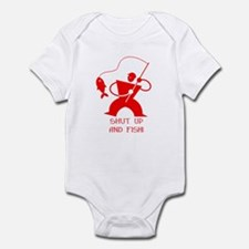 Shut Up And Fish! Infant Bodysuit