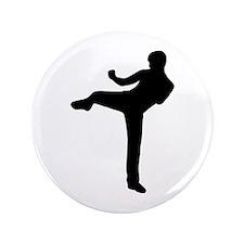 "Kickboxing 3.5"" Button"