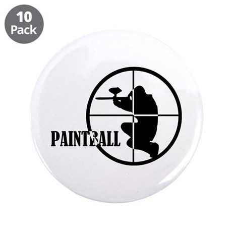 """Paintball 3.5"""" Button (10 pack)"""