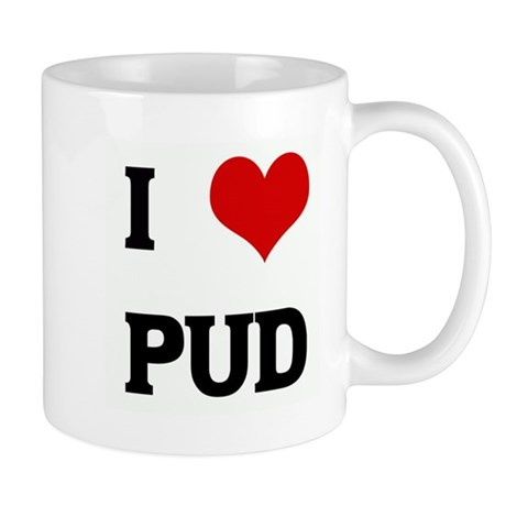 I Love PUD Mug