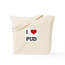 I Love PUD Tote Bag