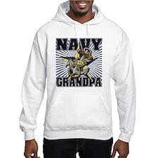 Navy Grandpa Jumper Hoody